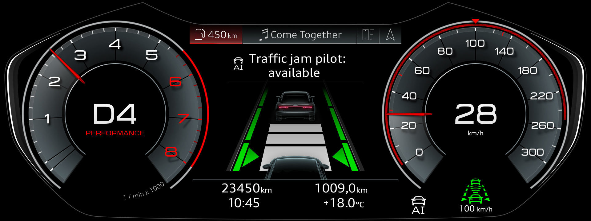 automated driving at a new level the audi ai traffic jam pilot rh audi mediacenter com audi traffic jam pilot video audi traffic jam pilot vs tesla autopilot