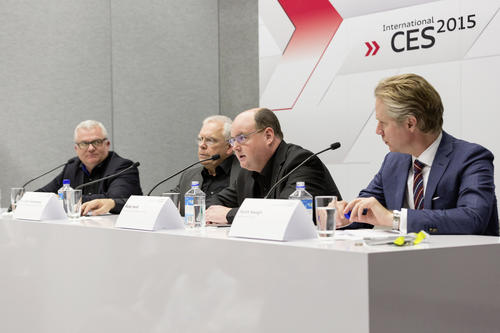 Audi Tech-Talk, CES 2015