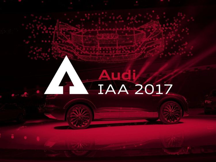 Save the date live streaming of the audi press conference for Motors tv live stream