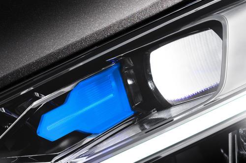 Audi laser light