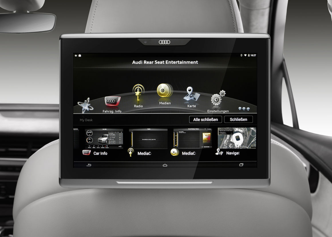 Infotainment And Audi Connect Audi Mediacenter