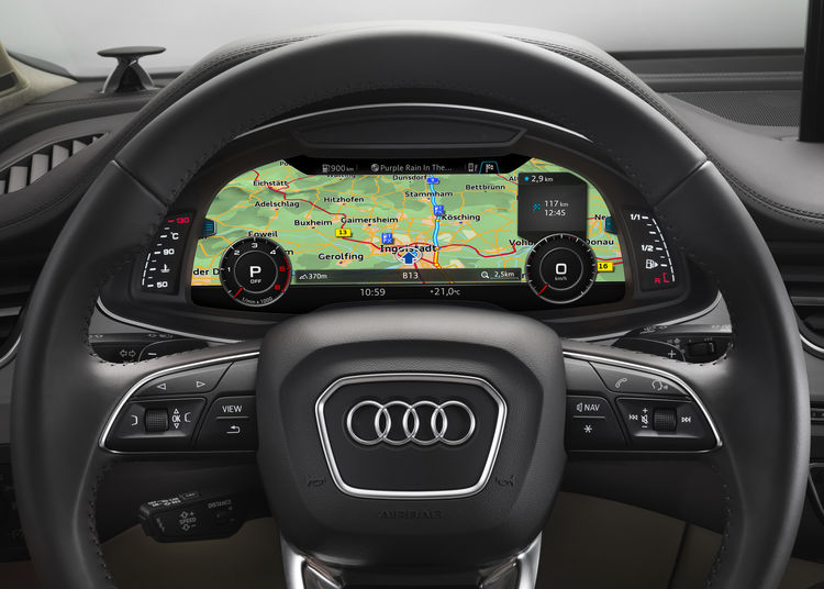 User operation and Displays | Audi MediaCenter