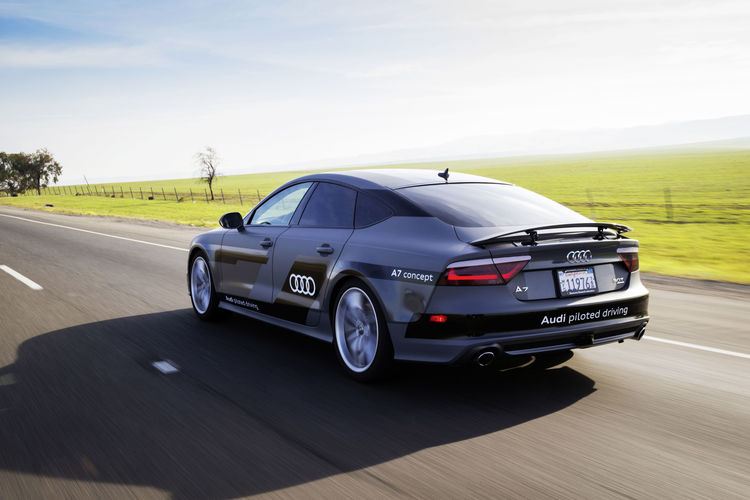 550 mile piloted drive from Silicon Valley to Las Vegas