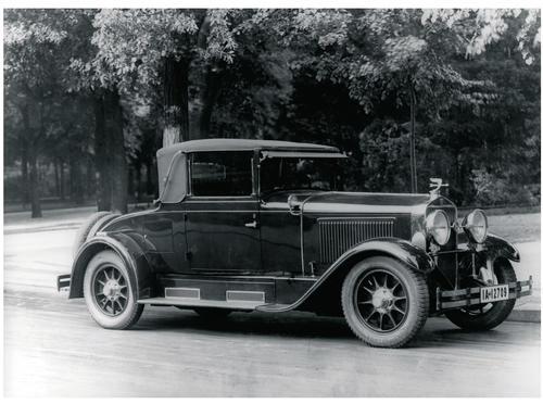 Horch 8 Typ 350 1928/1930 Sport Cabriolet mit 4,0 Liter-Reihen-Achtzylinder