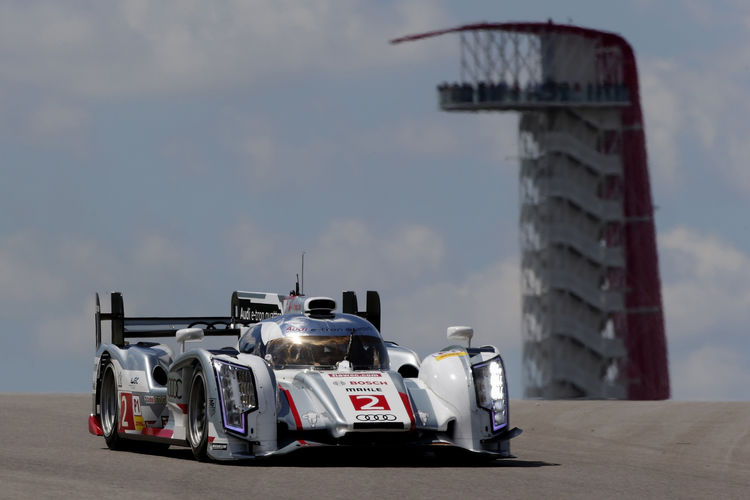 Audi clinches fourth best time in succession at Austin