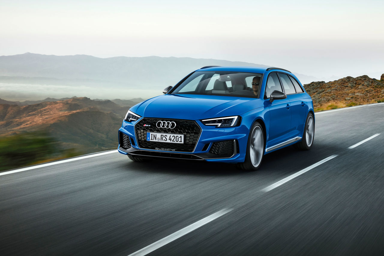 Sales launch for the new Audi RS 4 Avant