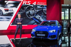 Audi Sport at the IAA in Frankfurt