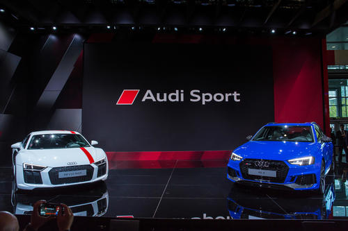 Audi Sport bei der IAA in Frankfurt