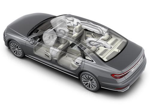 Airbags im Audi A8 L