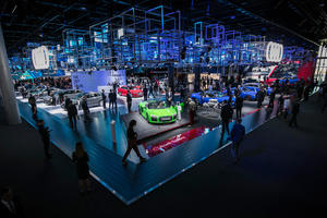 Audi press conference at the IAA in Frankfurt