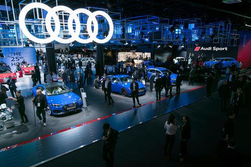 Audi Pressekonferenz bei der IAA in Frankfurt