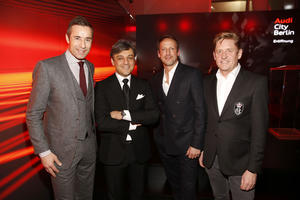 Fritz Kalkbrenner and Xavier Naidoo accompany launch of Audi City Berlin