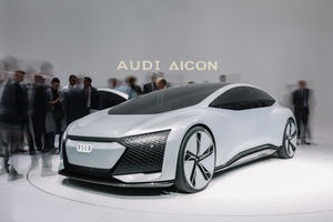 Audi at the IAA in Frankfurt