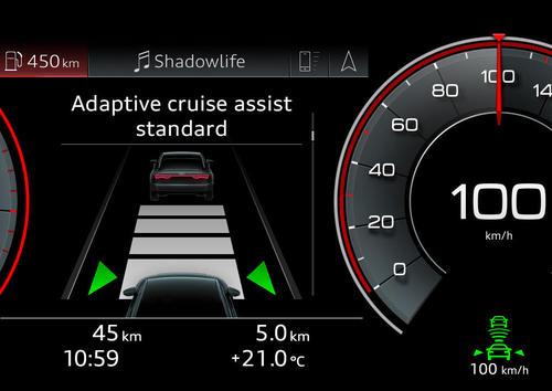Adaptive cruise assist