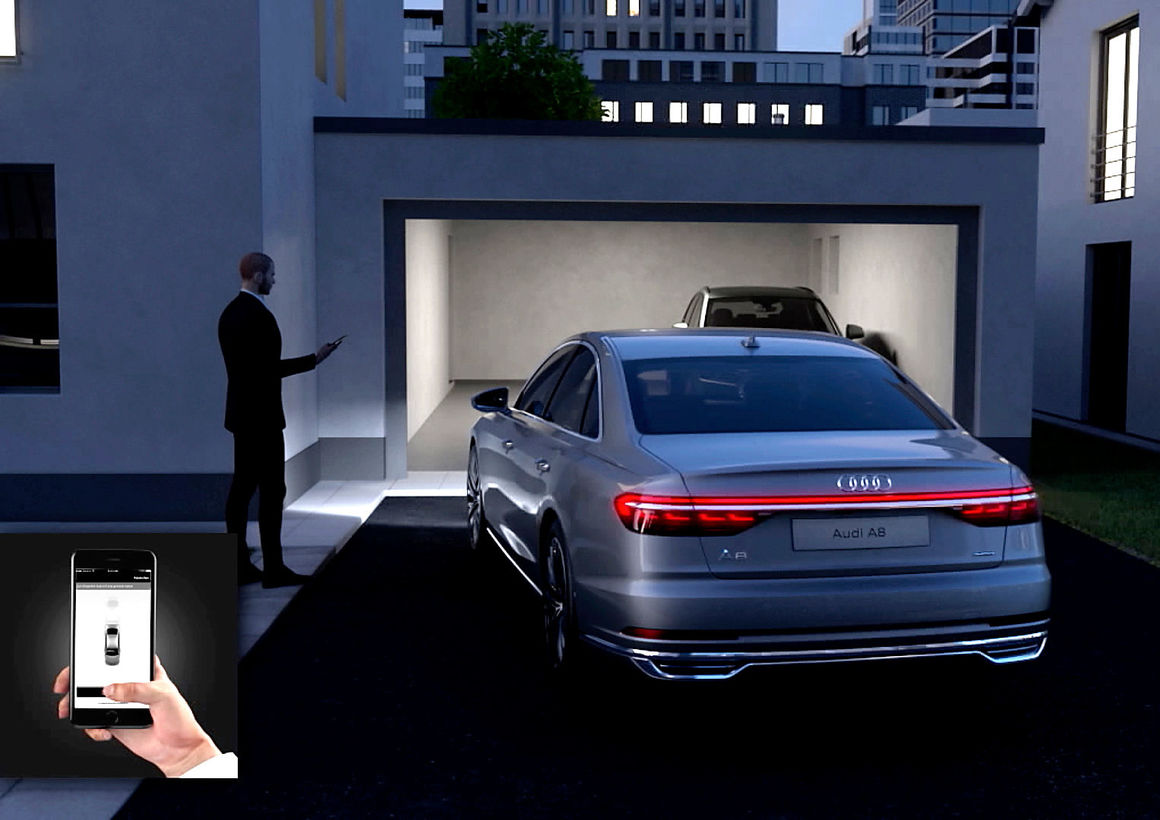 Remote garagenpilot audi mediacenter for Garage audi tours