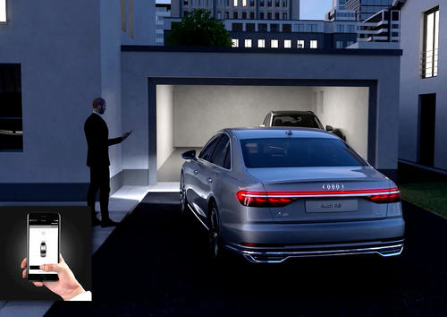 Audi AI remote garage pilot