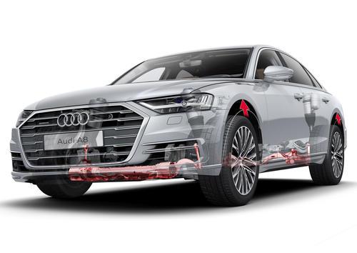 Audi pre sense side
