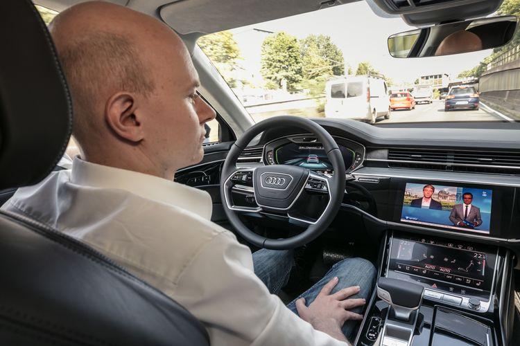 Audi AI traffic jam pilot