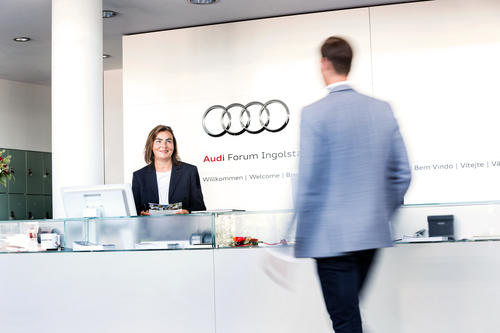 The Audi Forum Ingolstadt