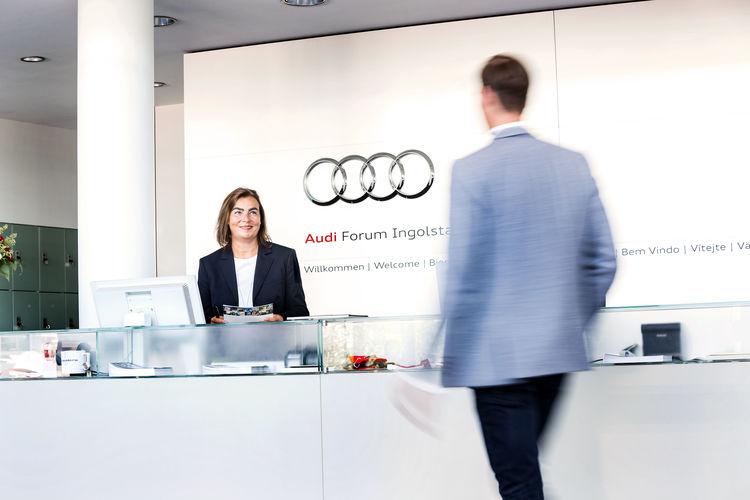 The Audi Forum Ingolstadt