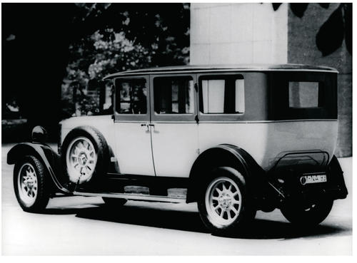 Horch Type 303 1926/1927 with 3.2 litre 8-cylinder engine. The first production 8-cylinder engine in Germany