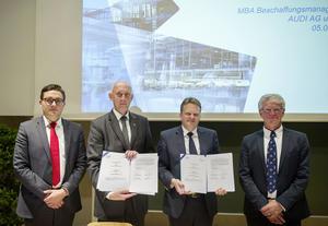 Studieren mit Audi: Neues MBA-Studium Beschaffungsmanagement