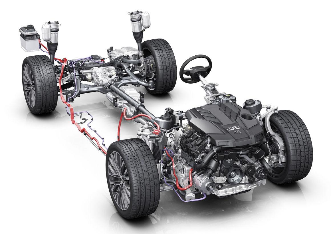 Mild hybrid 48-volt drivetrain | Audi MediaCenter