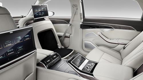 Audi tablet