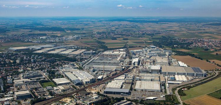 Audi site Ingolstadt (aerial photograph)