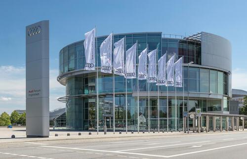 Das Audi Forum Ingolstadt