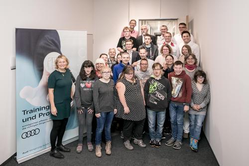 Audi Neckarsulm und Astrid-Lindgren-Schule starten langfristiges Inklusionsmodell