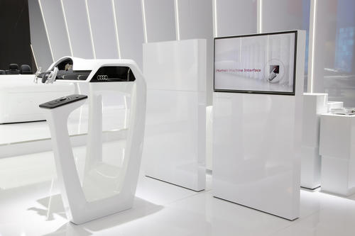 Audi at International CES 2015