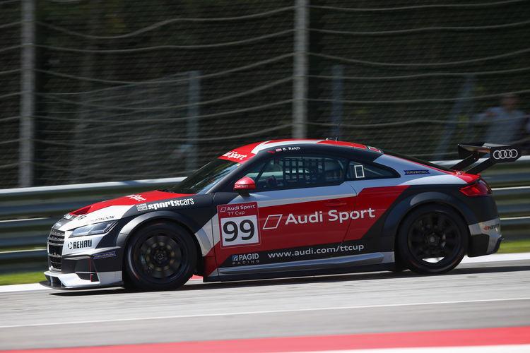 Audi Sport TT Cup Red Bull Ring 2017