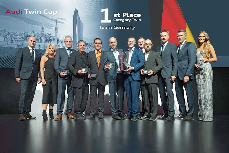 Audi Twin Cup 2017: Germany wins world championship for service