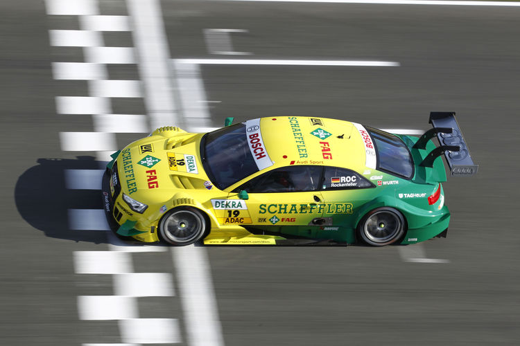 Audi driver Rockenfeller reaches for DTM title