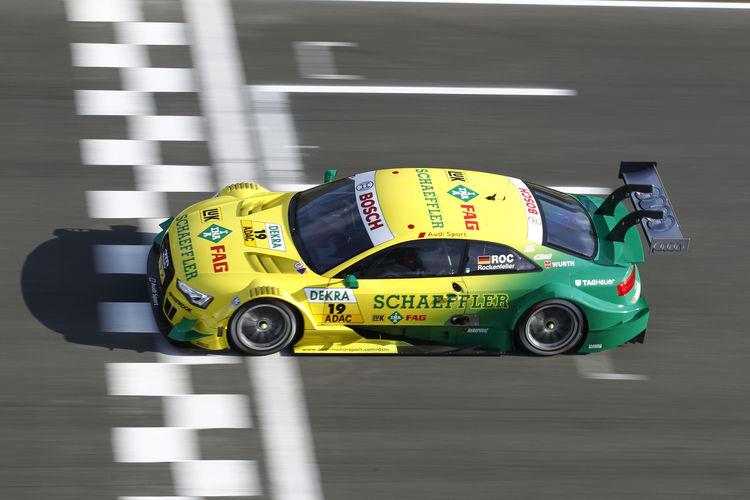 Audi driver Rockenfeller reaches for DTM title