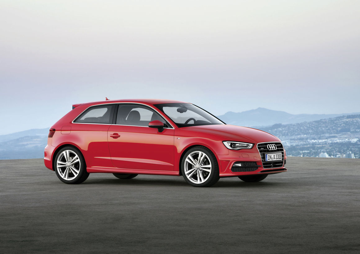 audi a3 1 8 tfsi quattro with s line exterieur package audi mediacenter. Black Bedroom Furniture Sets. Home Design Ideas