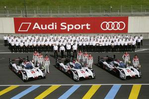 Audi mit verbrauchsgünstigstem Antrieb in Le Mans