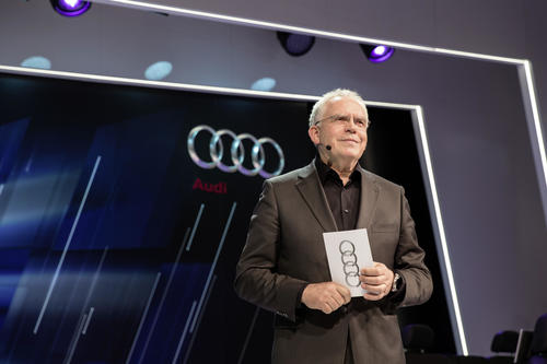 Audi press converence at International CES 2015