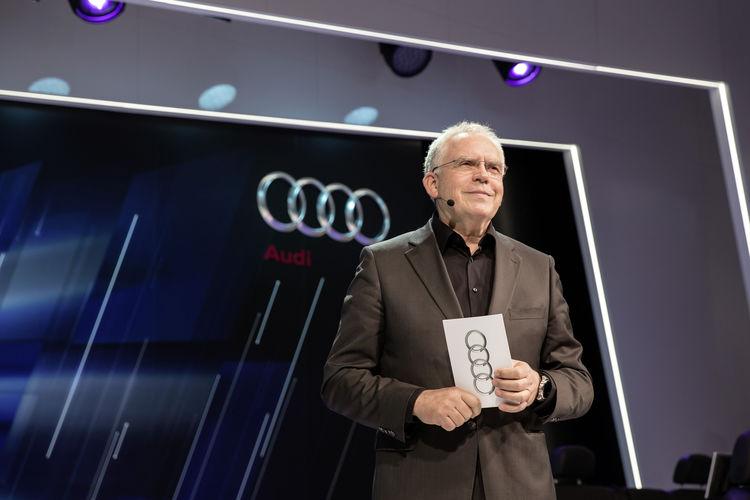 Audi press converence at International CES 2015
