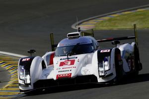 Erfolgreicher Testtag für Audi R18 e-tron quattro