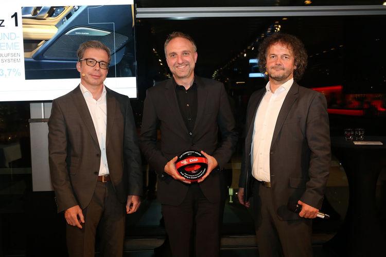 """Award ceremony  """"Car Connectivity Award 2017"""""""