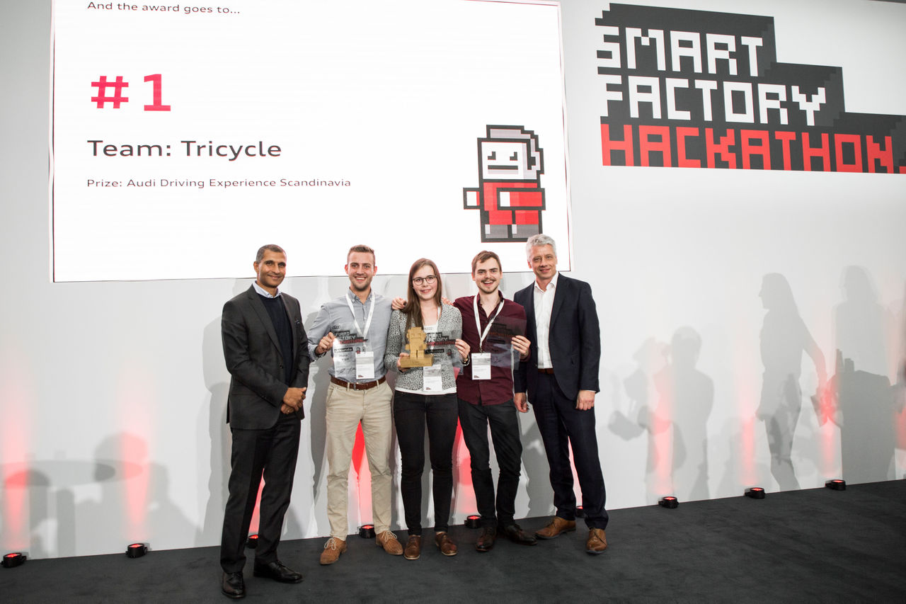 Audi's Smart Factory Hackathon:  ||25 hours to devise new software ideas