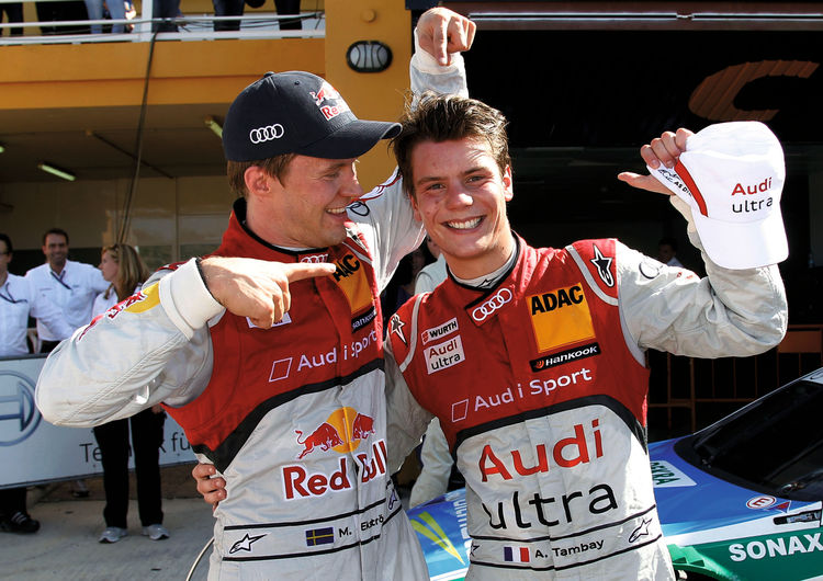 Audi takes lead in the DTM manufacturers' championship