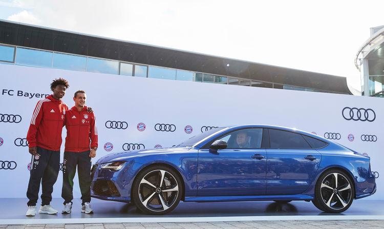 FC Bayern München erhält neue Audi-Modelle