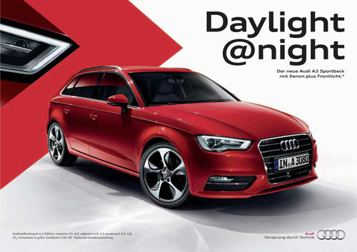 Audi-Werbung räumt bei global Effie Awards ab