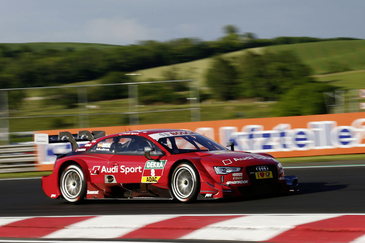 Miguel Molina clinches grid position three for Audi