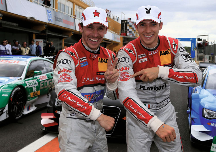 Audi with strong team performance
