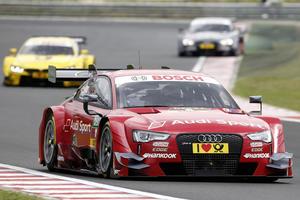Miguel Molina glänzt für Audi in Ungarn