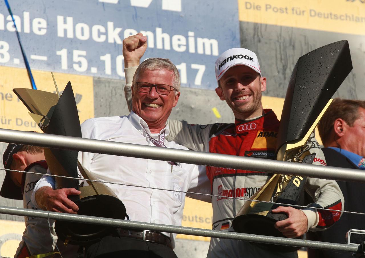 Audi driver René Rast makes DTM history